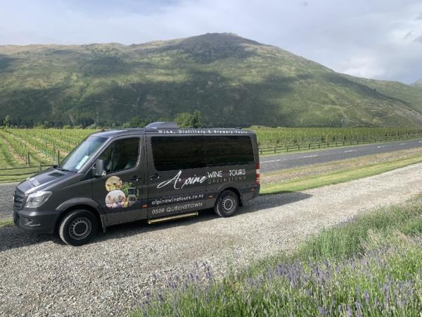 Alpine Wine Tours Mercedes Sprinter